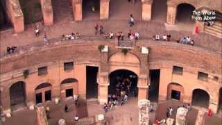 Italy from Above - Beautiful Flying Journeys from Caserta to Tivoli (HD)